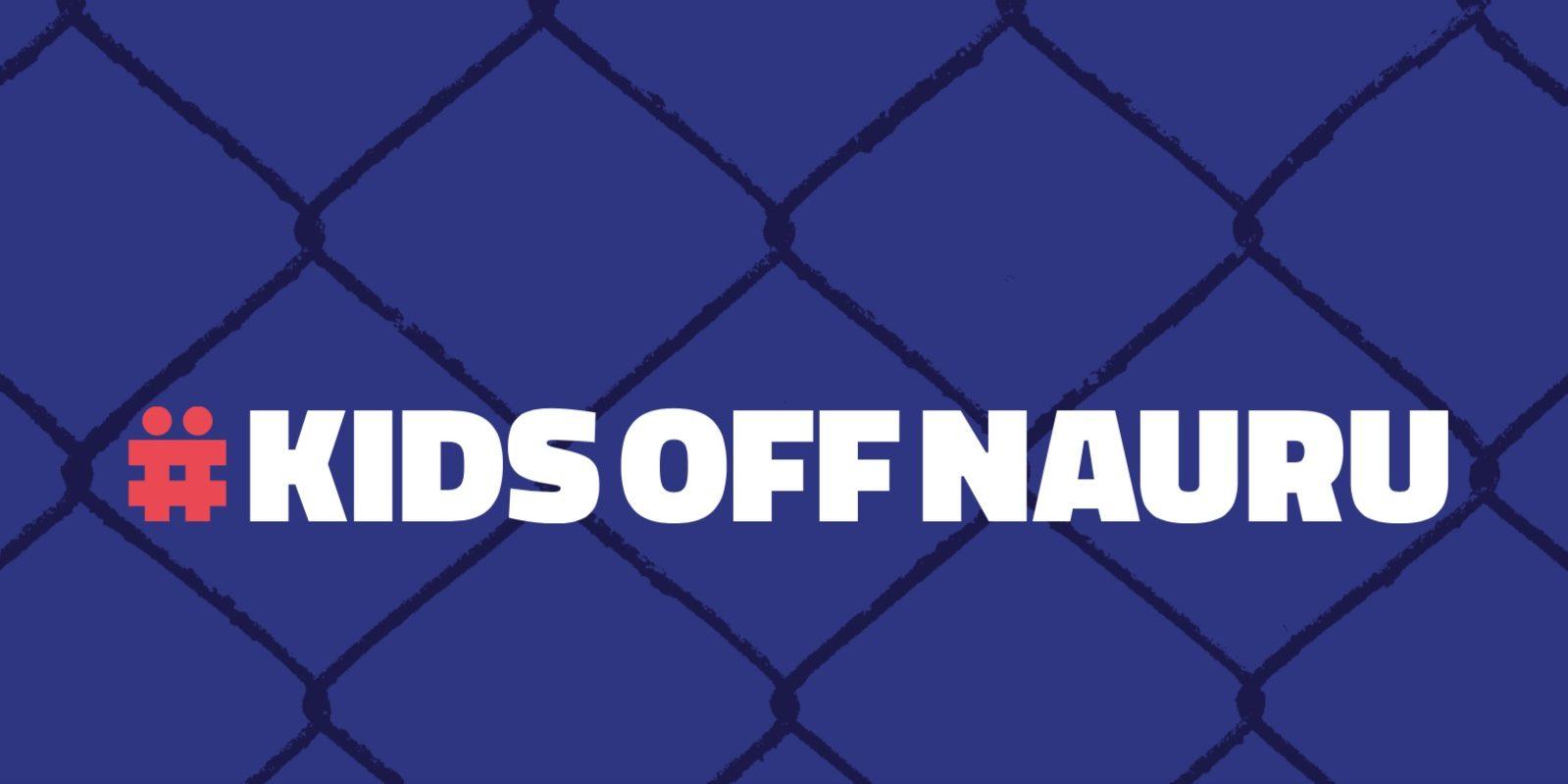 Kids Off Nauru. Why Isn't This A No-Brainer?